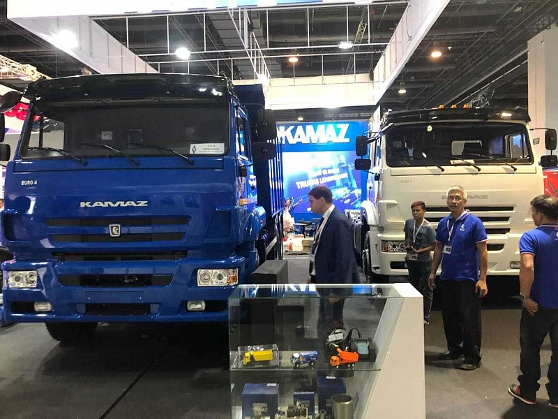 «КАМАЗ» на Philippines Bus & Truck Show